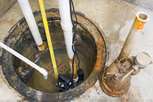 installation of a sump pump